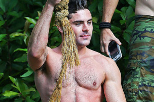 Zac Efron films 'Mike and Dave Need Wedding Dates'