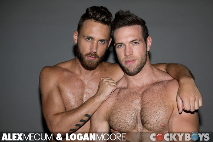 Alex Mecum and Logan Moore | Cockyboys
