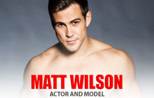 Actor and Model Matt Wilson