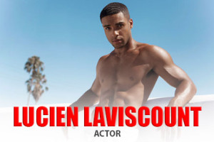 Model and Actor Lucien Laviscount