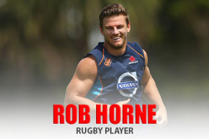 Rugby Player Rob Horne