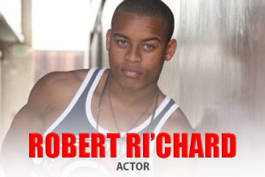 Actor Robert Ri'chard