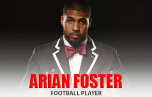 Football Player Arian Foster