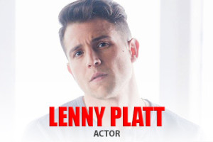 Actor Lenny Platt