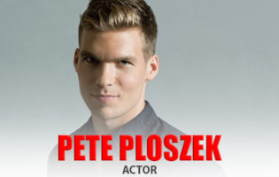 Actor Pete Ploszek