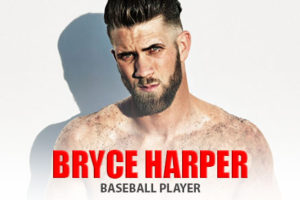 Baseball Player Bryce Harper