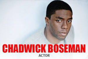 Actor Chadwick Boseman