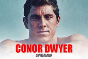 Swimmer Conor Dwyer