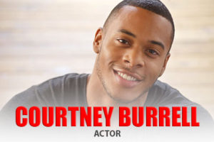 Actor Courtney Burrell