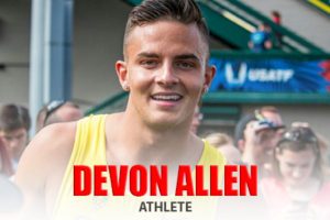 Athlete Devon Allen