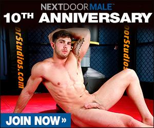 next door male ad