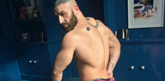Francois Sagat for Alpha Male Undies